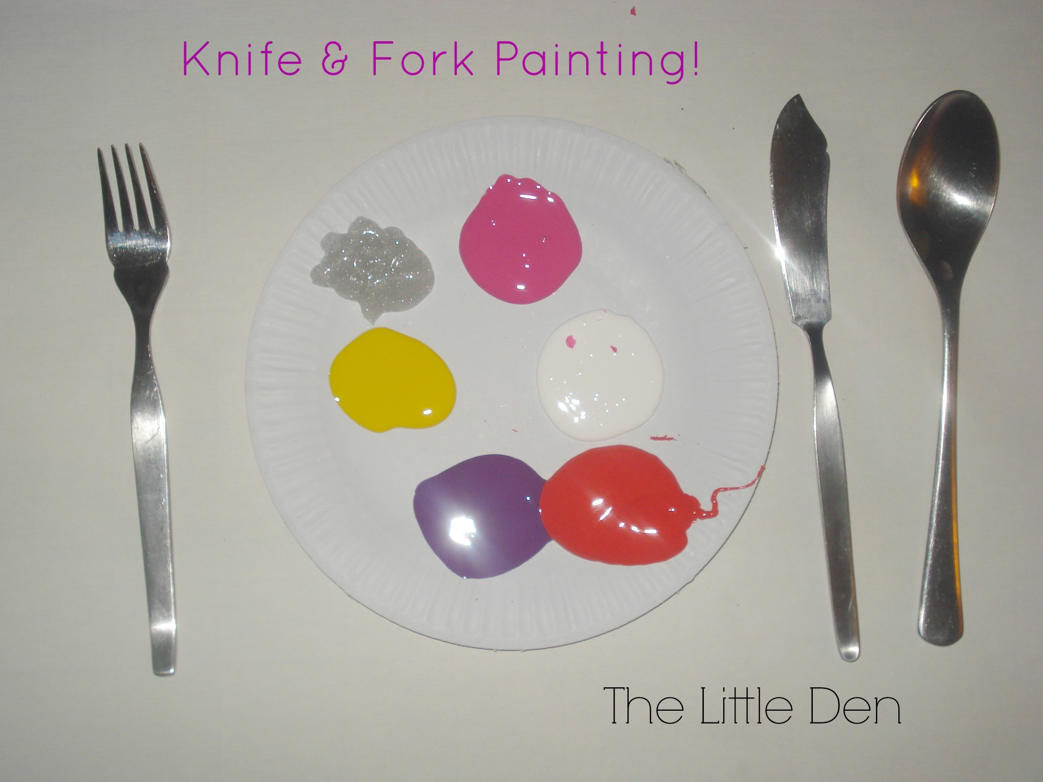Knife & Fork Painting