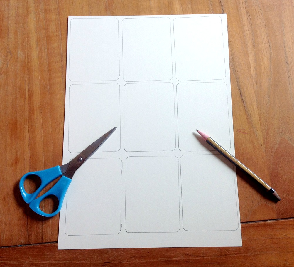 Create card template