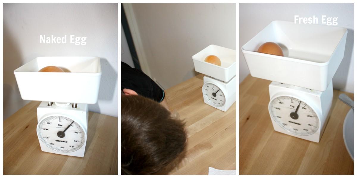 Egg weighing