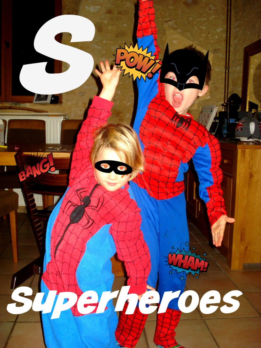 S for Superheroes