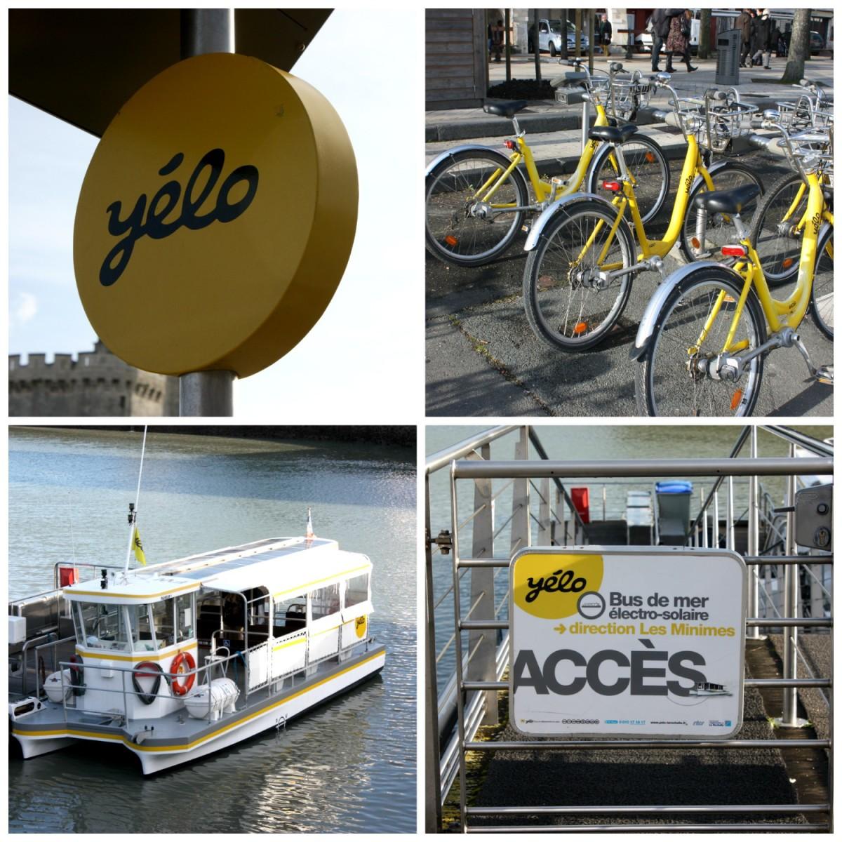 Bike & boat scheme in La Rochelle