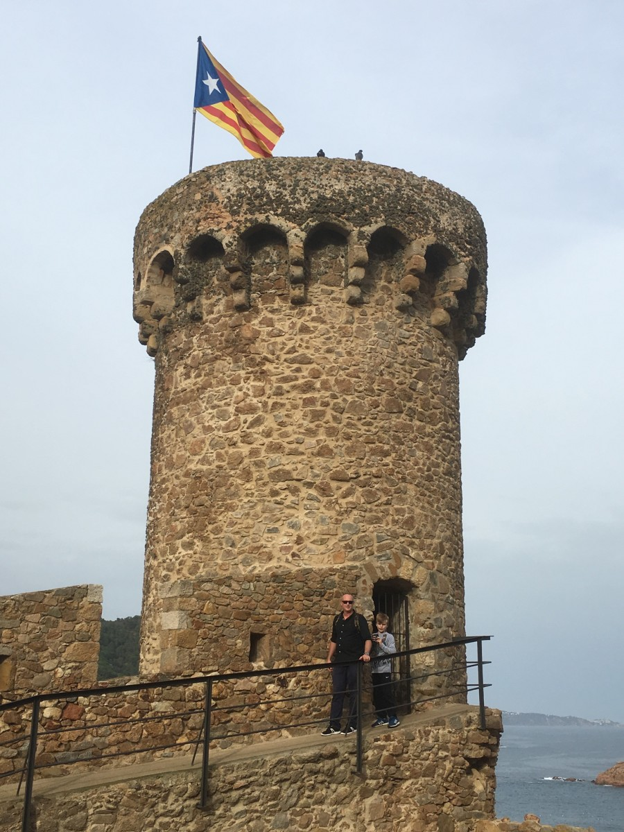 The tower of Tossa