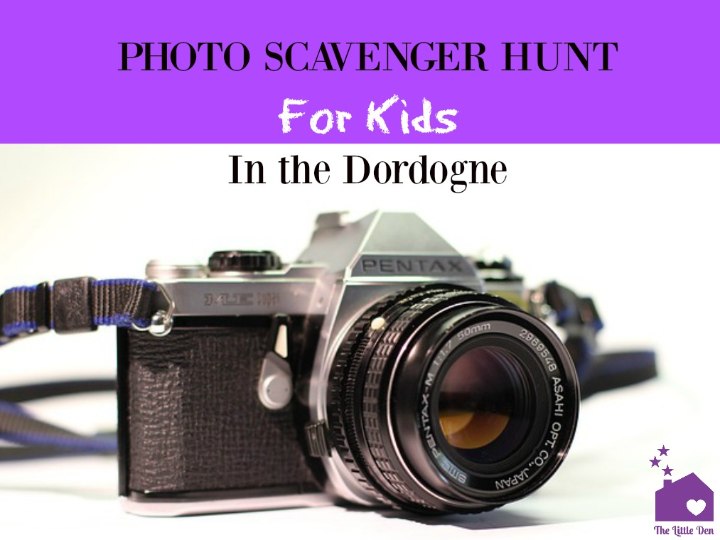 Photo Scavenger Hunt for Kids