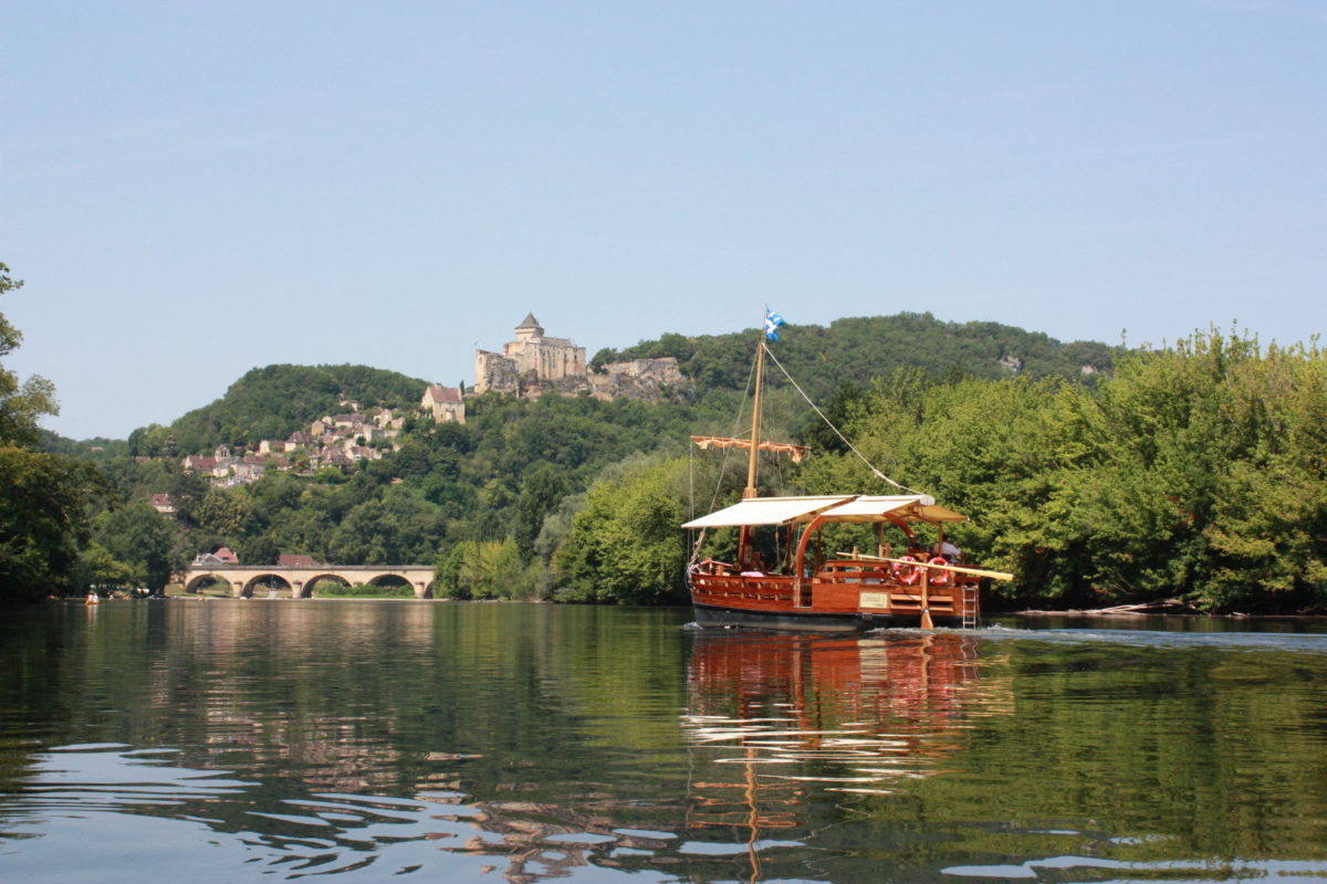 Chateau de Castelnaud from the Dordogne River