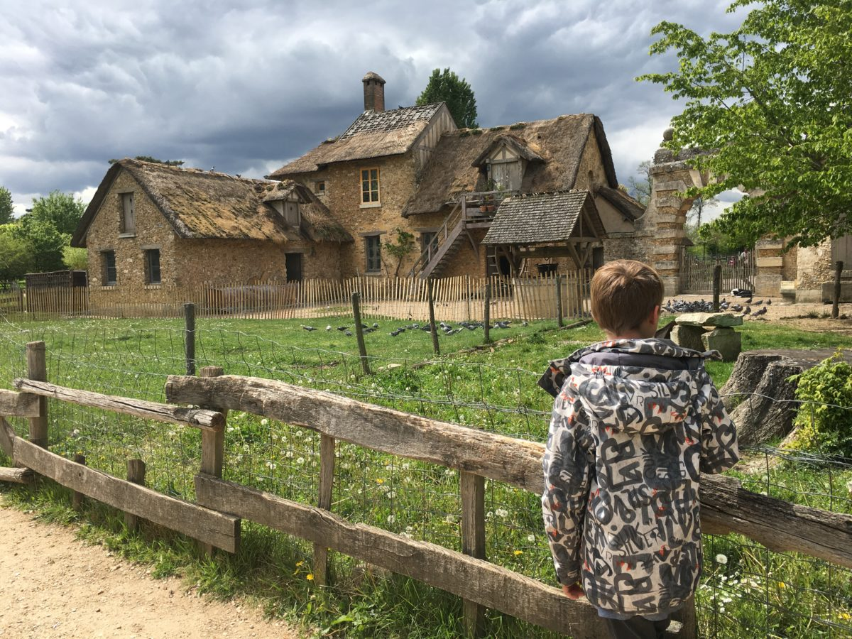 Marie-Antoinette's Hamlet - thatched cottages