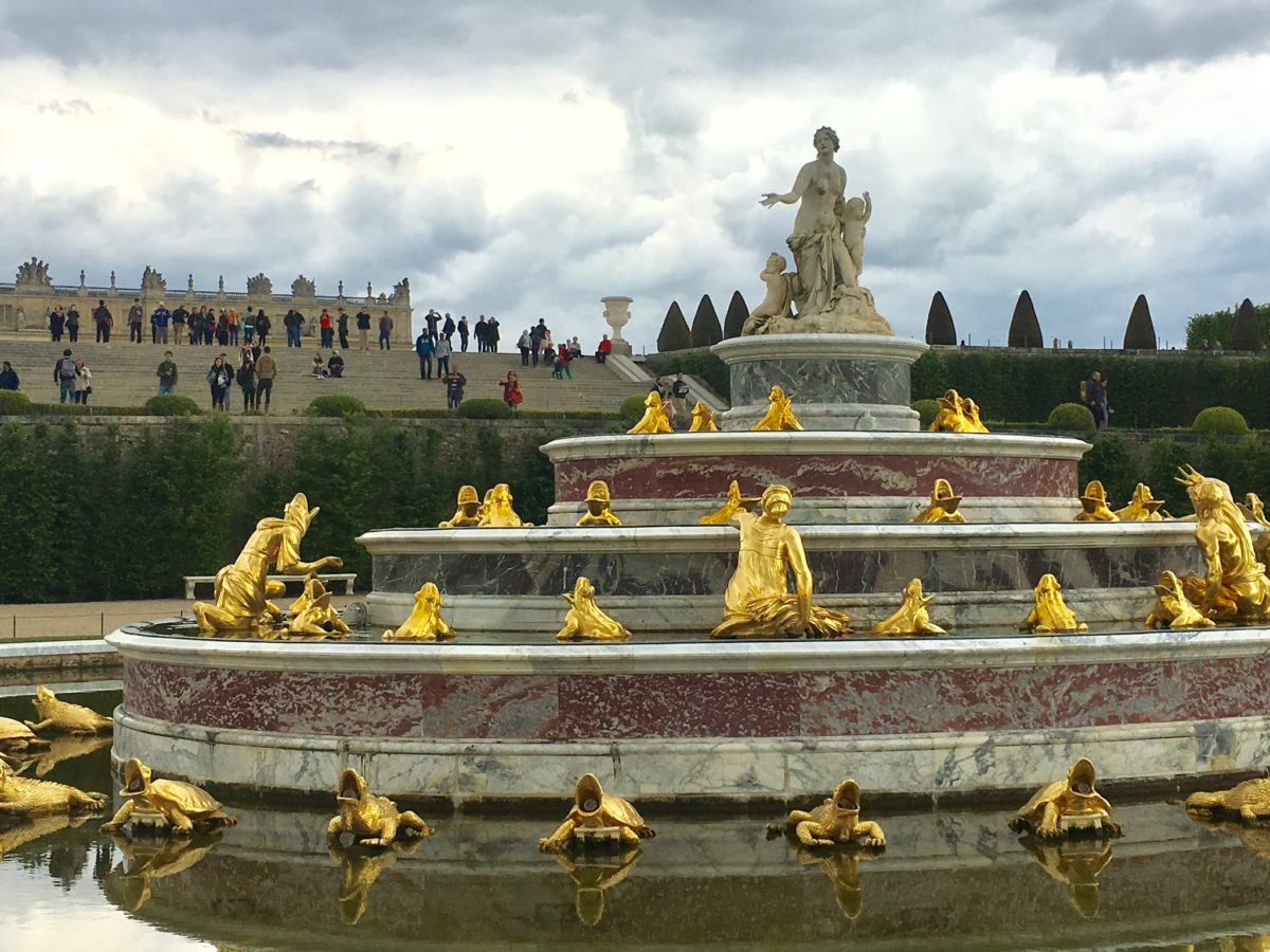 Gardens of Versailles - Fountain