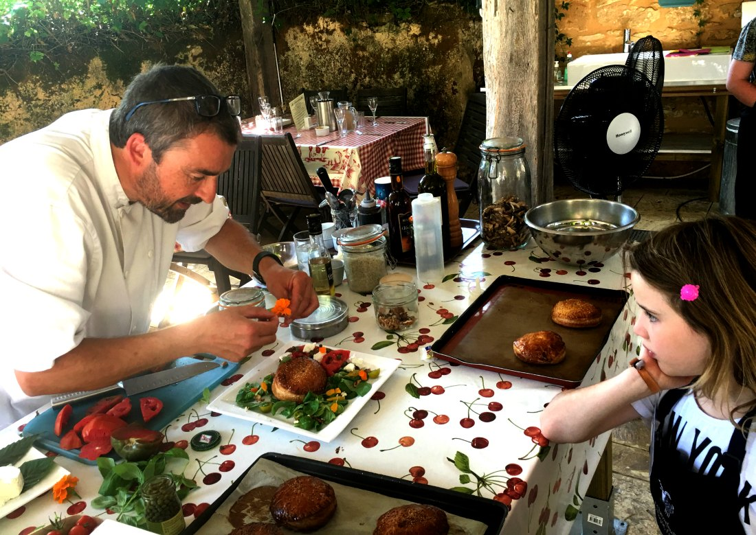 Family & Kids Cookery Course Dordogne
