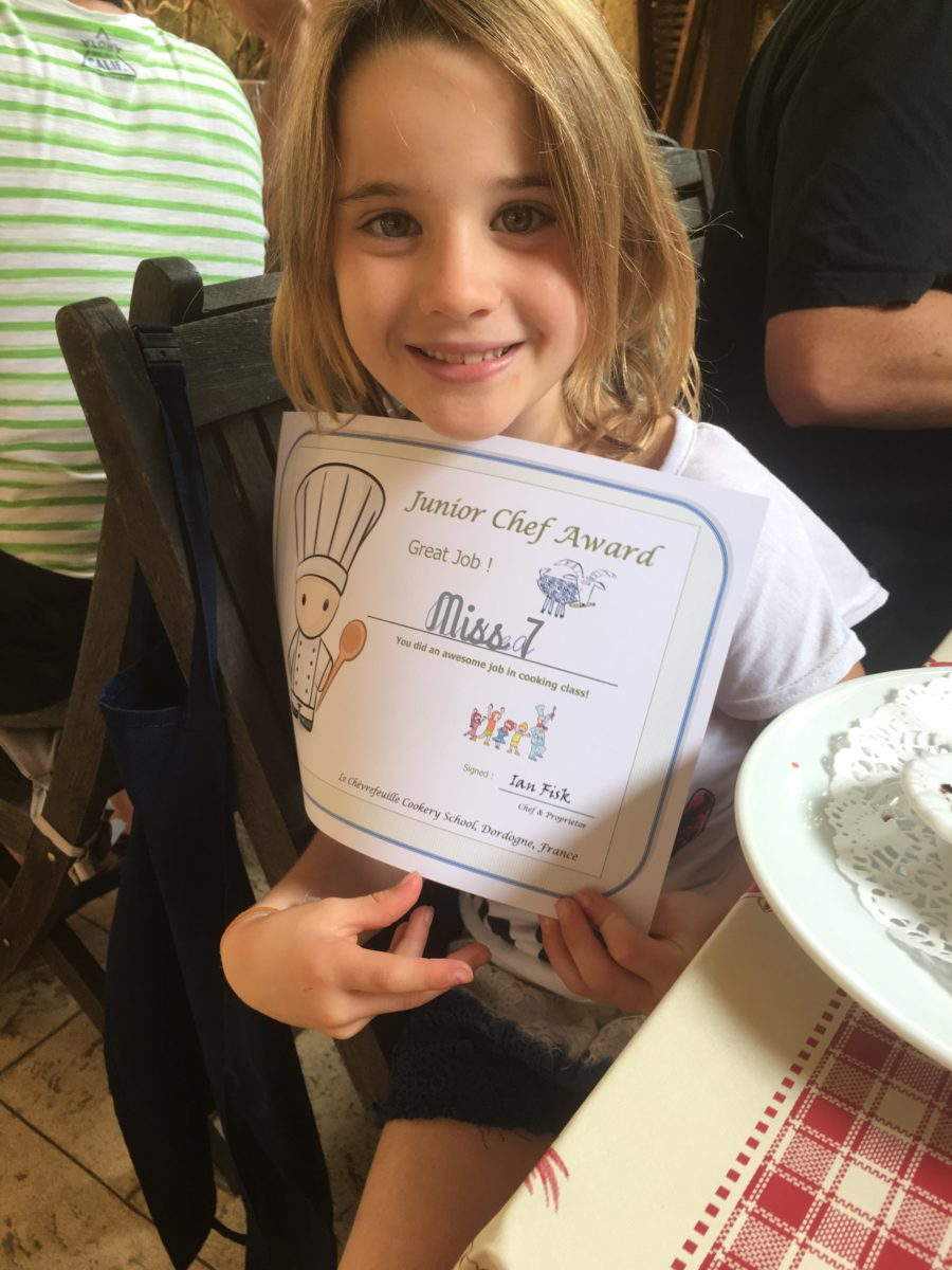 Family & Kids Cookery Course - Junior Chef Award