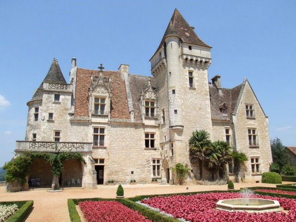 Josephine Baker Castle in the Dordogne, France