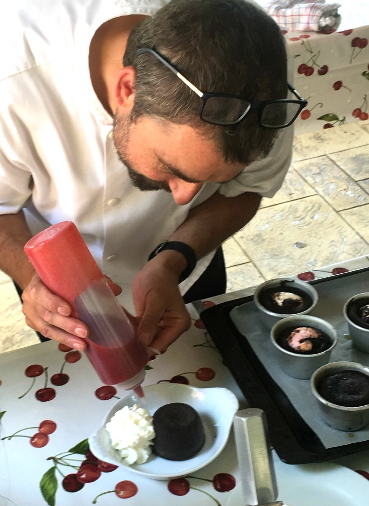 Kids Cookery Course - Chocolate Fondant with Strawberry'n'basil Coulis