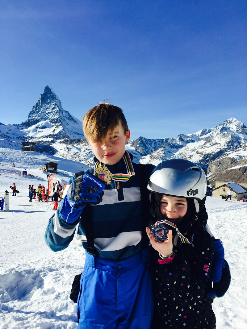 Kids Ski School Zermatt
