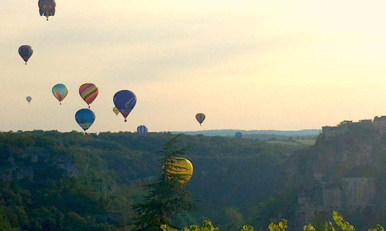 Hot Air Balloon Festival Rocamadour