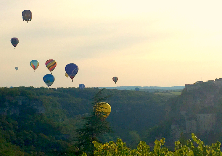 Hot Air Balloon Festival Rocamadour