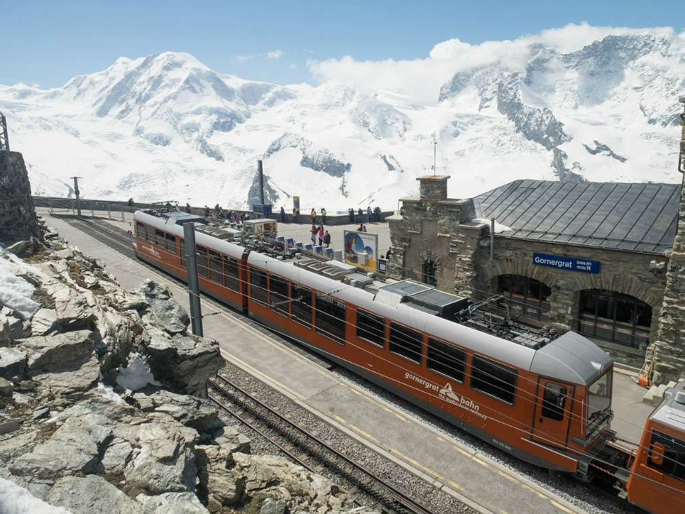 Gornergrat train Zermatt