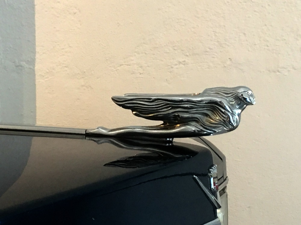 Cadillac close-up, Pubol Castle