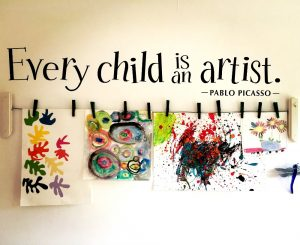 Every Child is An Artist Quote by Pablo Picasso
