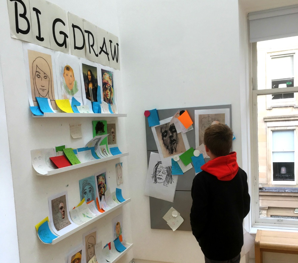 Glasgow - Gallery of Modern Art, kids' corner