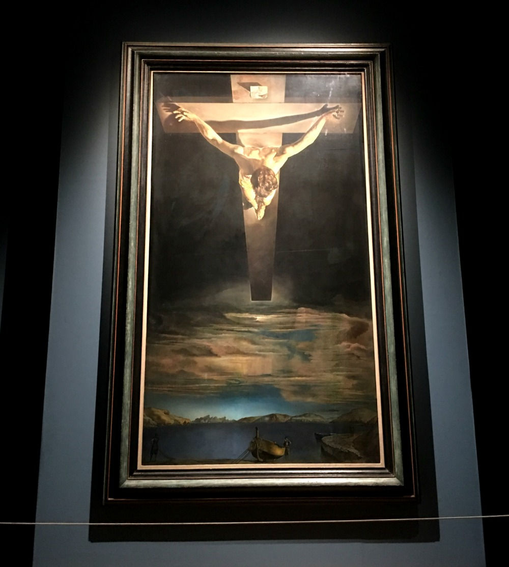Glasgow, Kelvingrove, Dali's Christ of Saint John of the Cross