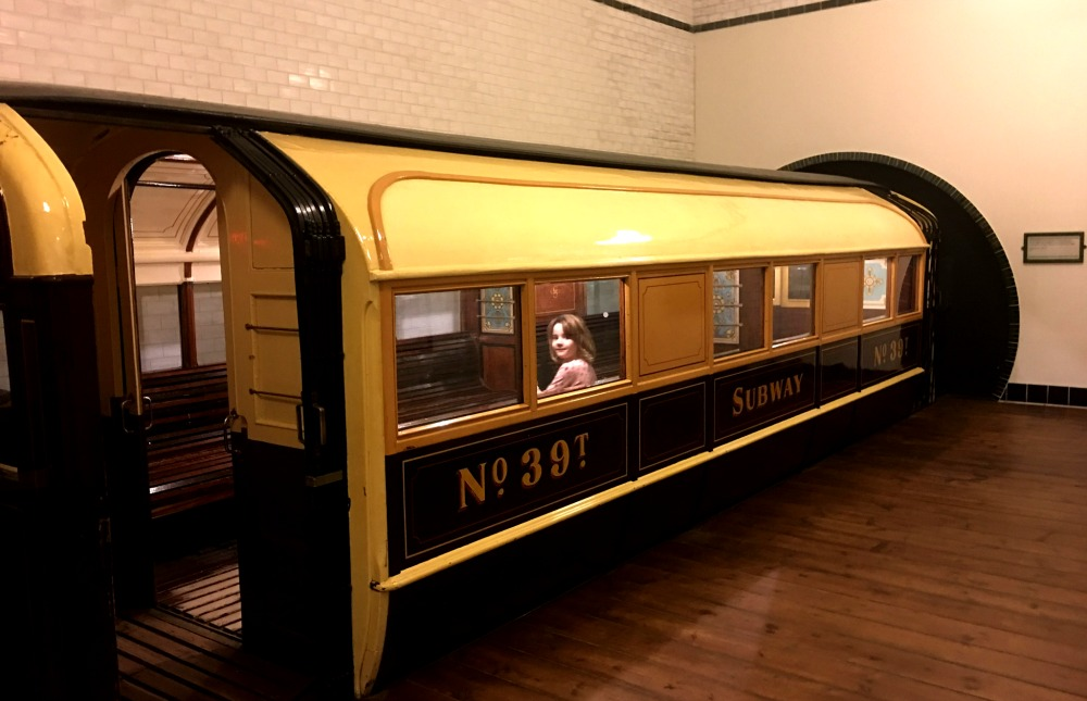 Glasgow - Old Glasgow Subway at the Riverside Museum