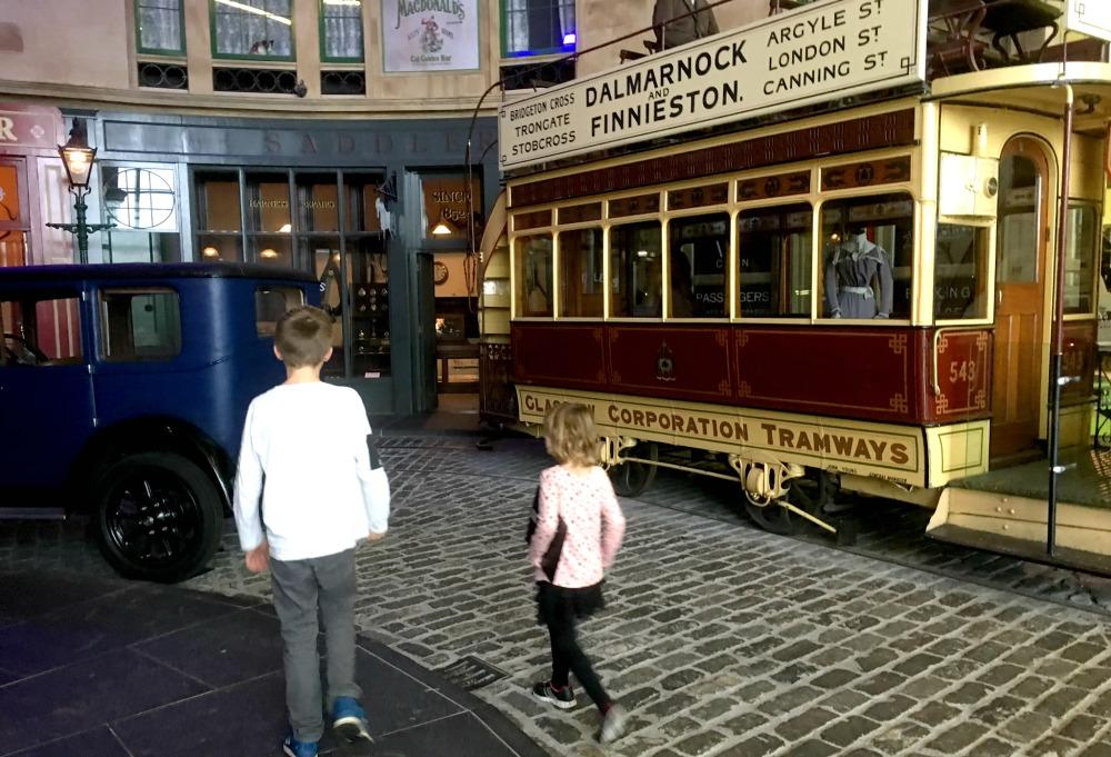Glasgow - Riverside Museum, Old Glasgow Street