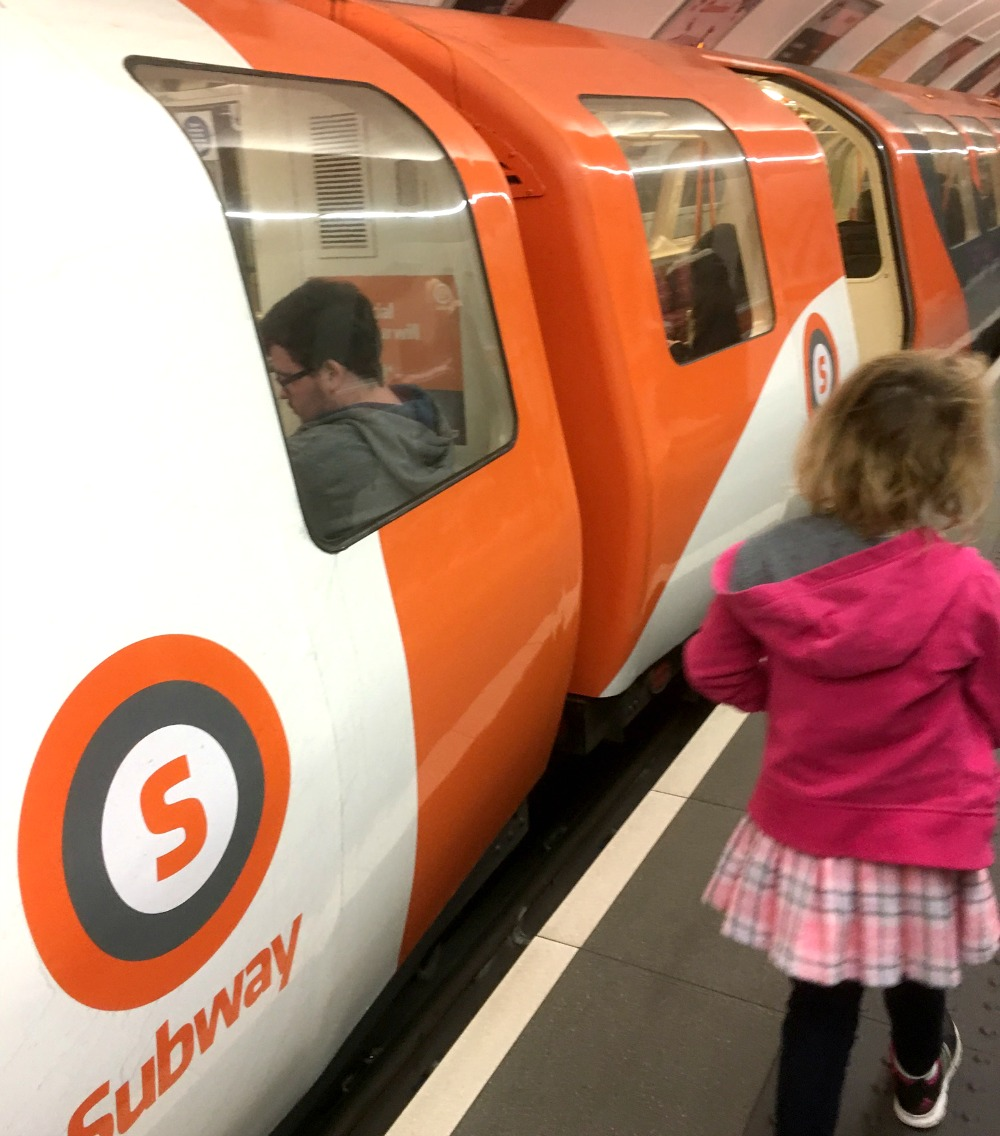 Glasgow - Subway, Clockwork Orange