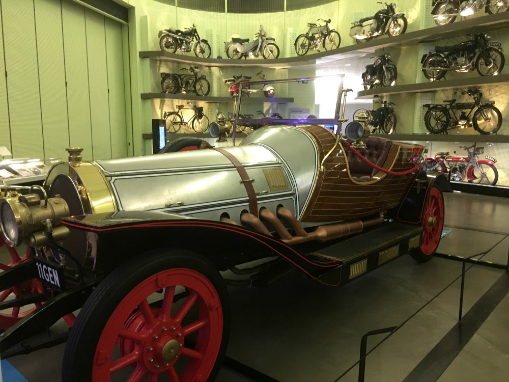 Glasgow - the Riverside Museum, Chitty chitty bang bang