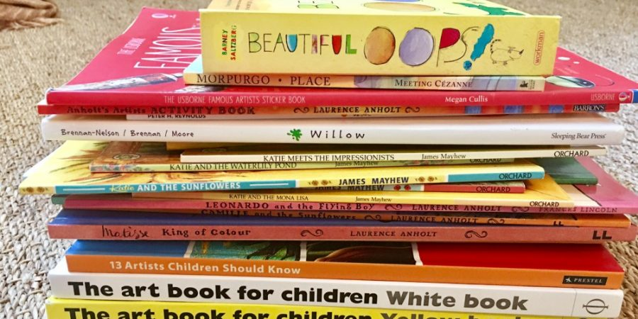 Inspiring Art Books for Kids