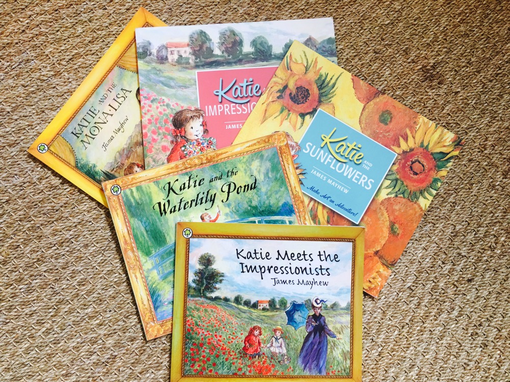 Katie Art Books by James Mayhew