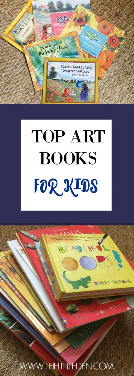 Top Art Books for kids