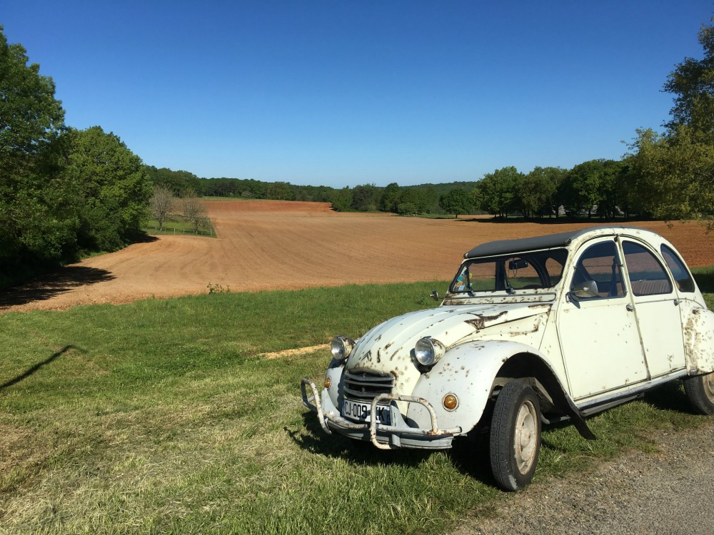 French Countryside + 2CV