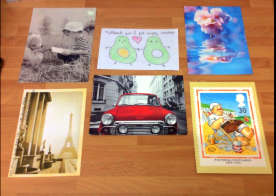 Postcards of kindness